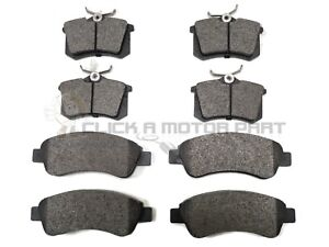 PEUGEOT 307 1.4  & 1.4 HDI 2001-2008 FRONT AND REAR BRAKE DISC PADS NEW SET