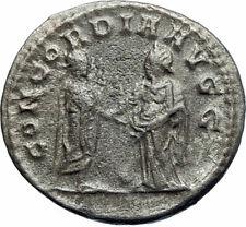 SALONINA & GALLIENUS Marriage Vows CEREMONY 255AD Ancient Roman Coin i78470