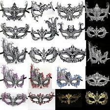 Masquerade Metal Costume Masks