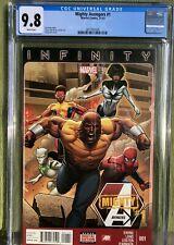 Mighty Avengers #1 CGC 9.8 Marvel Comic 1st app Monica Rambeau Spectrum 2013 MCU