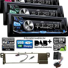 JVC KD-DB97BT DAB + Bluetooth Autoradio CD MP3 USB digital Radio BMW 3er E46