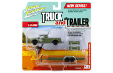Johnny Lightning Ford F250 2004 Flatbed trailer US Army JLCP7086 1/64