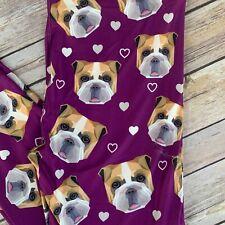French Bull Dog Puppy Paws Women/'s Leggings Plus Size TC 12-20 Super Soft