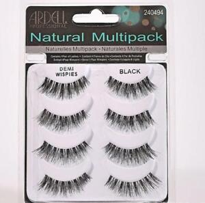 Ardell Demi Wispies False Eyelashes Multipack - 4 Pairs of Lashes Multi Pack