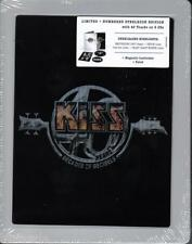 KISS/40-Limited ologramma Steelbox Edition * New 2cd's 2014 * NUOVO *