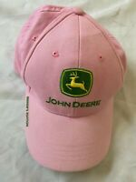 John Deere Pink & Green Hat Owners Edition Cap Nothing Runs like a Deere*