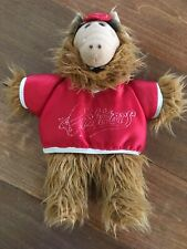 Alf Alien Wearing Red Cap and Orbiters Shirt Hand Puppet Plush Toy
