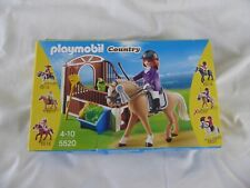 PLAYMOBIL 5520 COUNTRY SHOW HORSE WITH STALL (2013) AGES 4-10 - NEW AND BOXED