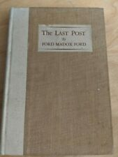 The Last Post by Ford Madox Ford (1928 hardcover)