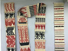 Northen India Chin Tribe Woven Textile Door wall Decoration Handmade