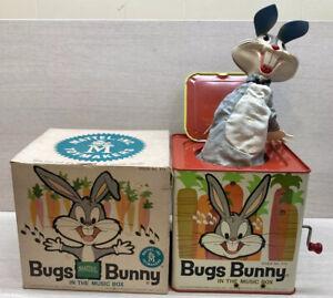 VTG 1962 Matty Mattel Toymakers Bugs Bunny in the Music Box W/ Box Warner Bros.