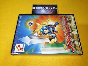 Sparkster Rocket Knight aventures 2 Sega Mega Drive / Genesis REG CARD RARE