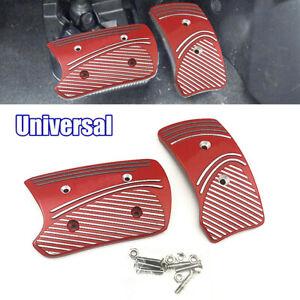 Aluminium Non Slip Sport Pedals Brake Pad Cover Automatic Transmission Universal