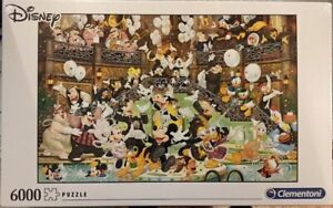 Clementoni 6000 Piece Jigsaw Puzzle Disney Gala Brand New Sealed