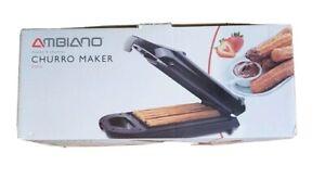 Ambiano Churro Maker Machine - Black -  Brand New