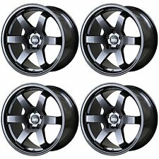 4 x Bola B1 Gunmetal Grey Alloy Wheels - 17x7.5 | 4x100 | ET40