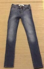 AMBERCROMBIE & FITCH Kids Blue Faded Skinny Jeans Size 00S