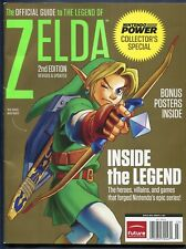 2011 Official Nintendo The Legend of Zelda Collectors 2nd Edition Guide w Poster