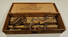 Rare Vintage Abercrombie & Fitch c1935 Badminton Set No 2 Made in England