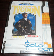 PC CD Game in Big Box. Railroad Tycoon Deluxe. Microprose (Still Shrinkwrapped)