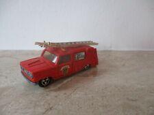 altes MAJORETTE  Feuerwehr Fire Engine Truck Modellauto 1:80