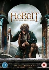 THE HOBBIT - BATTLE OF THE FIVE ARMIES - NEW / SEALED DVD - UK STOCK