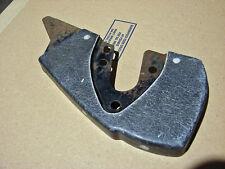 63-67 Corvette LH Inner Headlight End Plate NOS GM 3824833 Black Glass