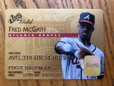 1995 Studio Gold Series Fred McGriff #23 NM