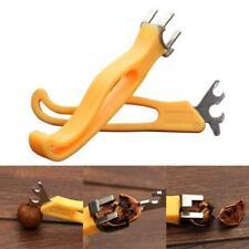 High Quality 2Pcs/set Quick Nutcracker Walnut Pliers Sheller Home Walnut Cracker