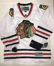Chicago Blackhawks Blank Reebok Premier NHL Hockey Jersey Small Authentic