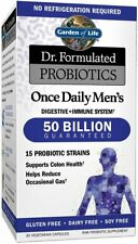 Dr. Formulated Probiotics Once Daily Men's, Garden of Life, 30 capsule