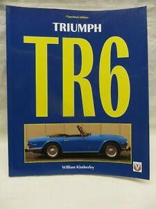 TRIUMPH TR6 BY WILLIAM KIMBERLEY