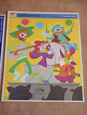 1969 HANNA BARBERA CATTANOOGA CATS FRAME TRAY PUZZLE  HIGH GRADE UNUSED