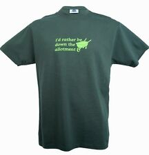 I'd Rather Be Down The Allotment  short sleeve t-shirt 2XL.High quality!