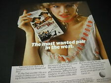 MEL TILLIS & ROY CLARK Most Wanted Pair UPHILL ALL THE WAY 1986 Promo Display Ad