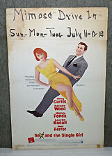 SEX AND THE SINGLE GIRL original 1965 movie poster NATALIE WOOD/TONY CURTIS