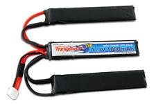 Tenergy 11.1V 1000mAh LiPO 20 AIRSOFT Battery Pack - Crane Stock