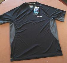 Berghaus Men's XL Argentium Black Texh T.Shirt