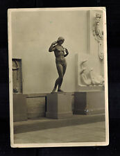 1943 Steyr Germany RPPC Postcard Cover to Furth Munich Art House Nude Statues