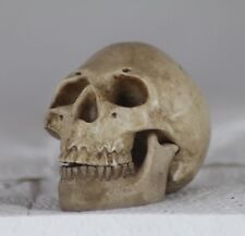 5.5cm HUMAN MICRO SKULL with HINGED JAW - GOTHIC GIFT - HALLOWEEN - HEAVY METAL