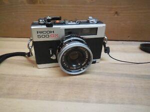 Ricoh 500 GX 35mm Compact Rangefinder Kamera