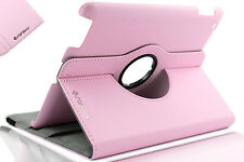 "For New iPad 2017 9.7"" Rotating 360 Swivel Case Stand (iPad AIR 5) PINK"
