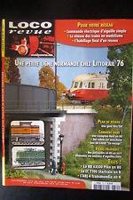 MODELISME FERROVIAIRE TRAIN MAGAZINE LOCO REVUE N° 731 de 2008