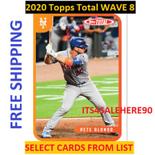 2020 Topps Total WAVE 8 Singles - YOU PICK - ALL CARDS AVAILABLE - FREE SHIPPING