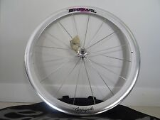 NOS VERY RARE CAMPAGNOLO TRACK SHAMAL FRONT 650C C RECORD 16 HOLES TUBULAR WHEEL