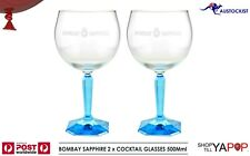 Bombay Sapphire Gin & Tonic Cocktail Glass HUGE 600ml Gift Boxed