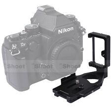 Separable Quick Release Plate/Camera Bracket Grip for Tripod Ball Head& Nikon Df