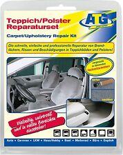 Teppich Polster Autositz KFZ Stoff Brandloch Reparatur Set Smart Repair 13 tlg