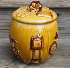 Vintage Kitchen Theme All Over Cookie Time Jar Colonial Designs