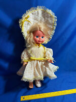 """Vintage Mattel 1969 Timey Tell Doll pull string Talking toy 60s 17"""" Large"""